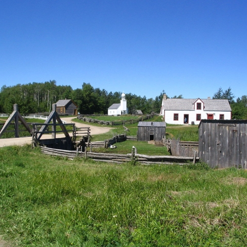 Le Village Historique Acadien (photo : Dr Wilson)