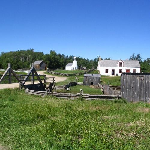 The Village Historique Acadien (photo: Dr Wilson)
